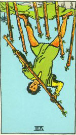 The Seven of Wands Reversed