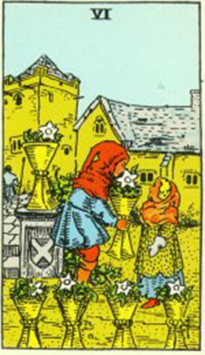 Tarot Card: Six Of Cups